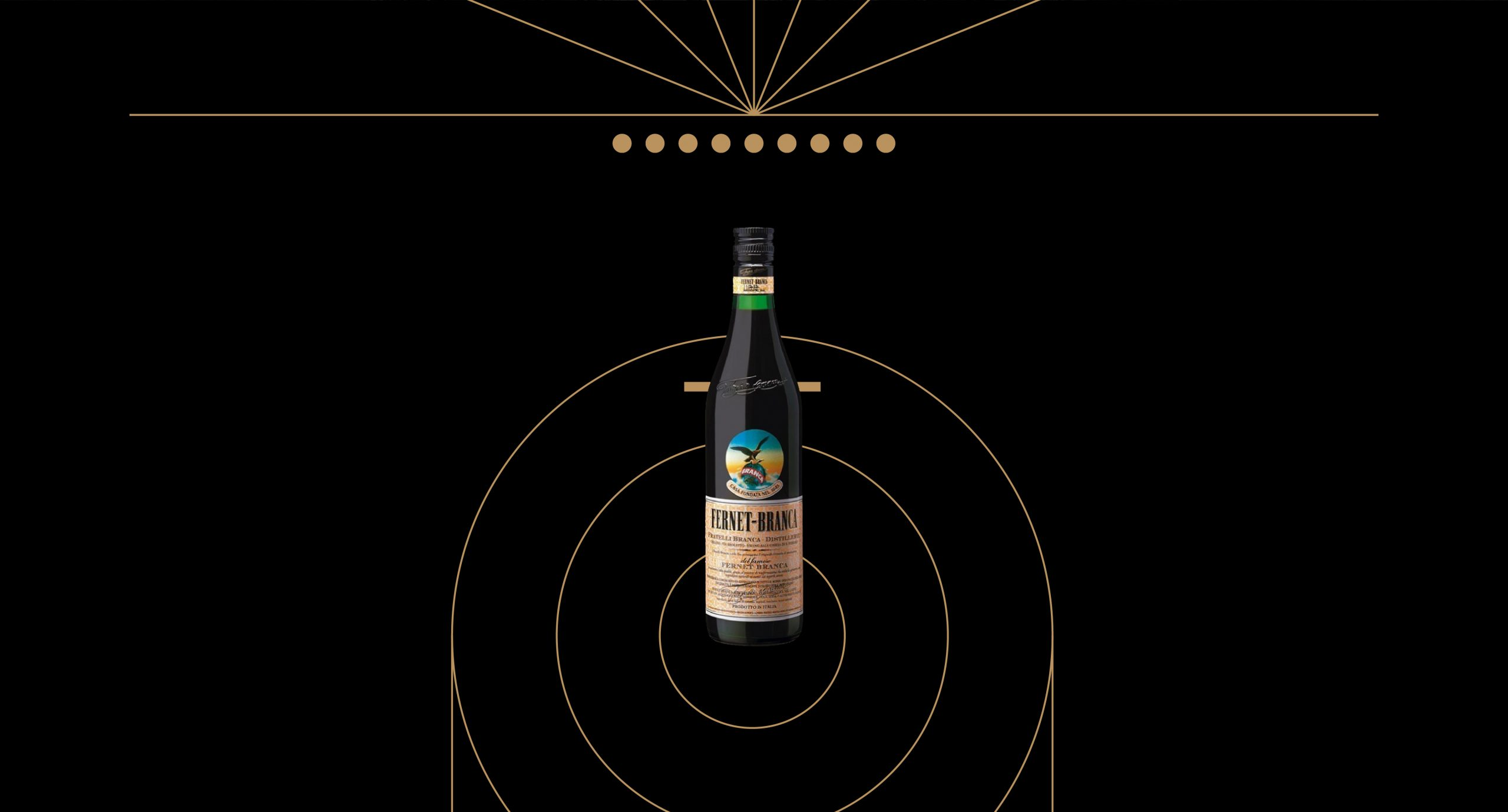 Fernet Branca poster illustration Guapo Design Studio