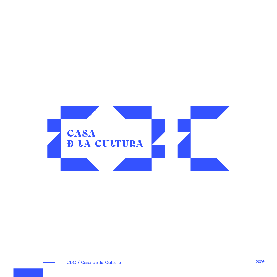 Guapo Design Studio Branding Logotype Collection CDC Casa de la Cultura General Roca Argentina