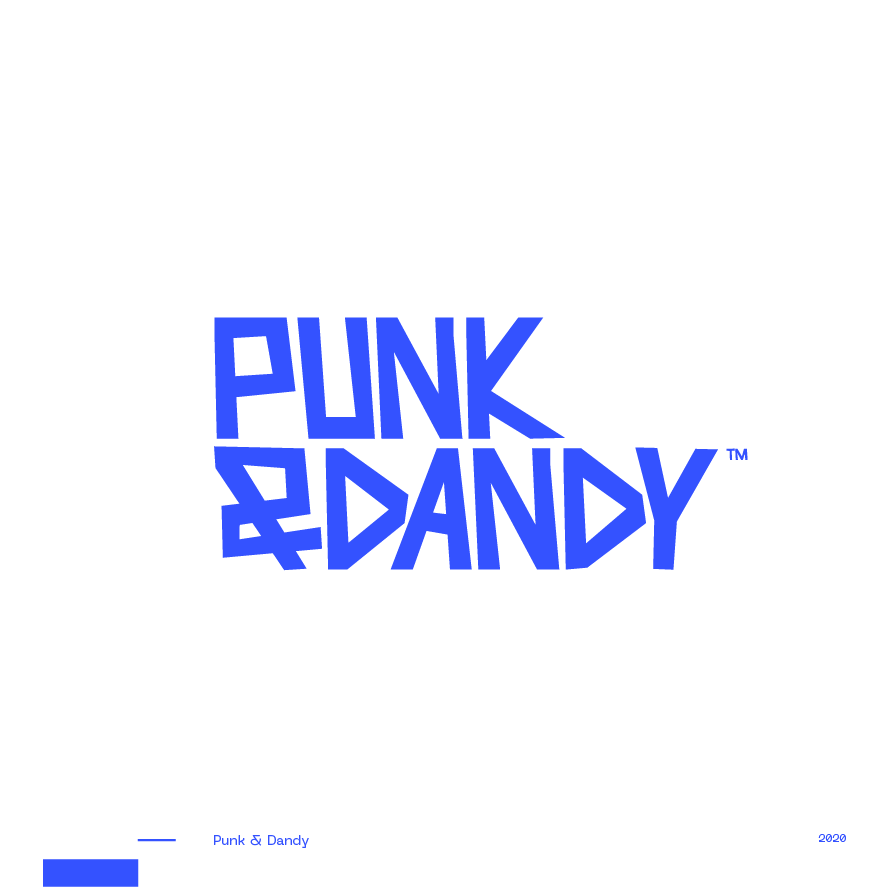 Guapo Design Studio Branding Logotype Collection Punk and Dandy