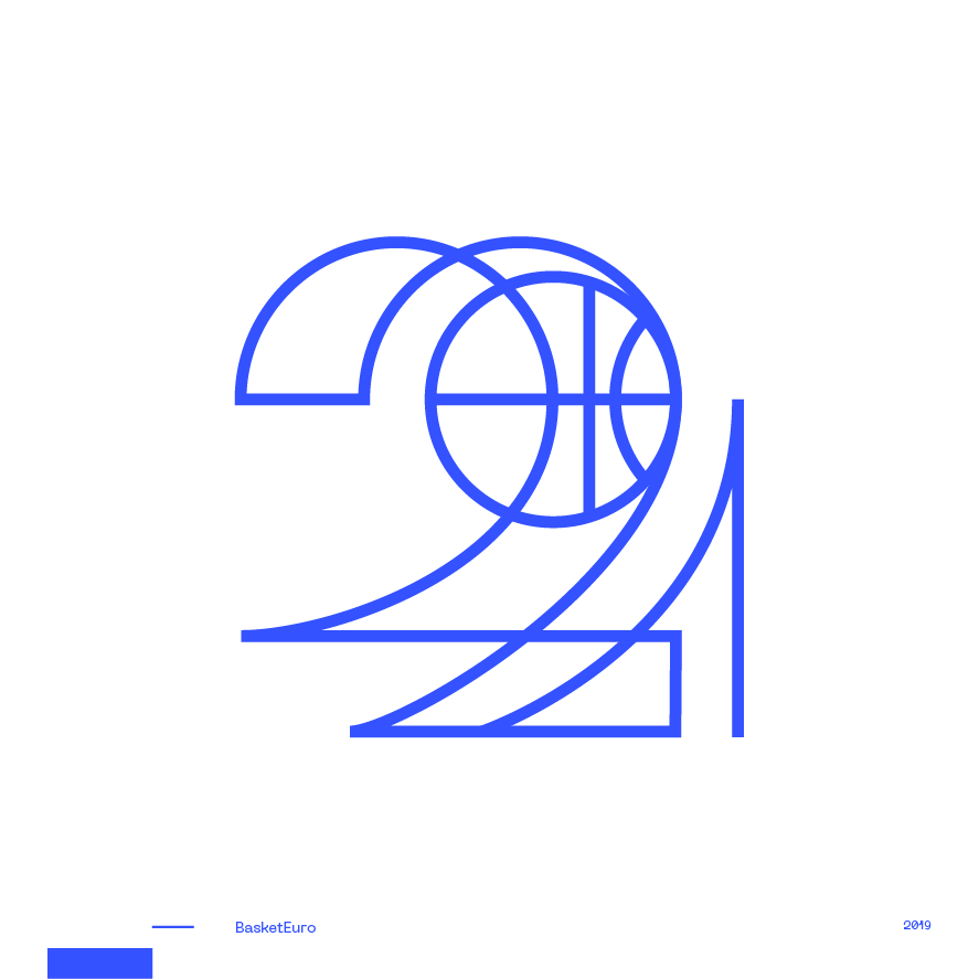 Guapo Design Studio Logotype Collection Basket Euro Tournament 2021