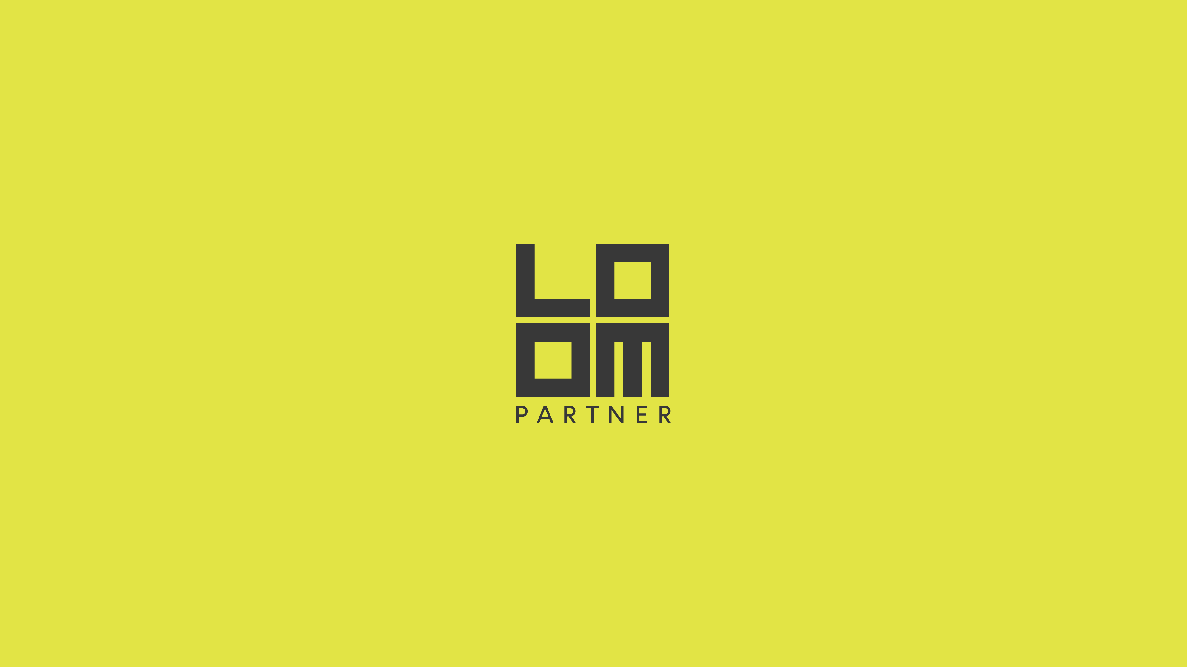 Guapo Design Studio Loom Partner media communication branding logotype